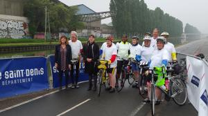 départ cyclotourisme mai 2016
