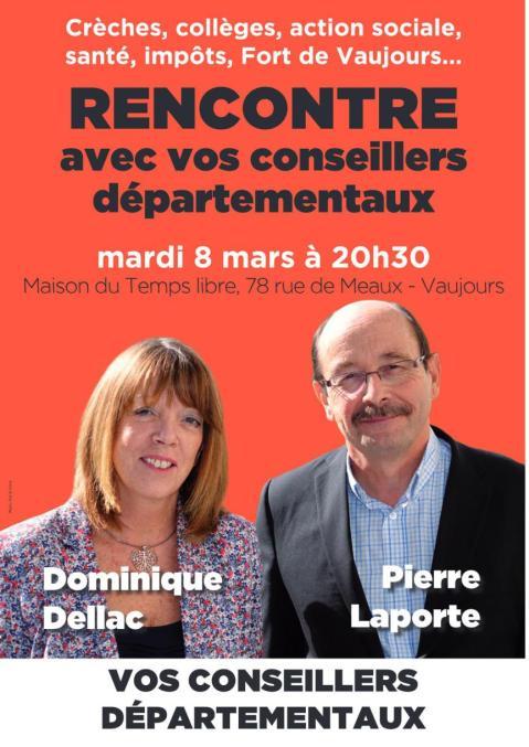 rencontre Vaujours mars 2016