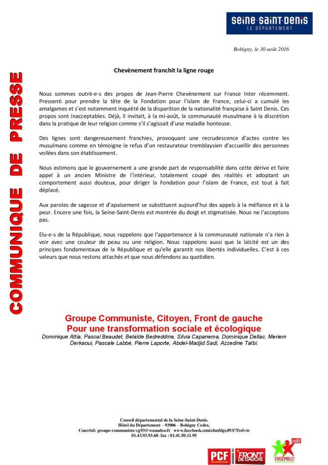 Communiqu___ gpe FDG CD 93 refus stigmatisation seine   saint denis 300816(1)-page-001