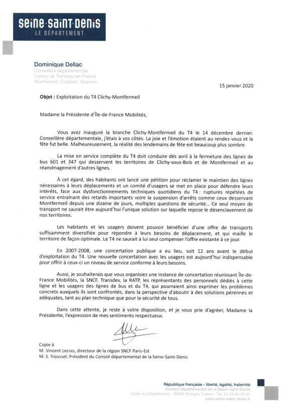200115 Lettre Pécresse IDFM t4 bus-1