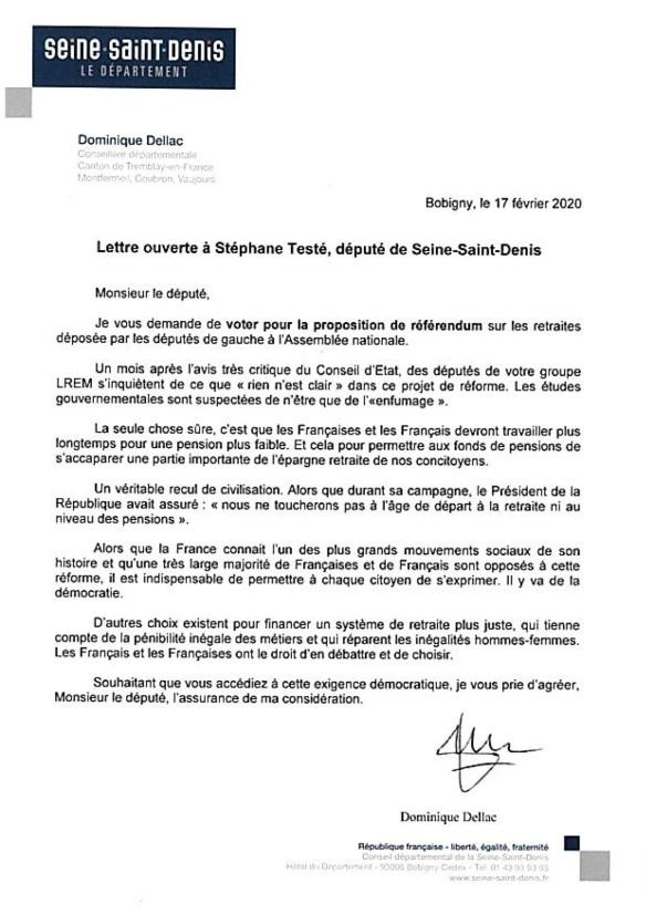 200217 Lettre ouverte à S.TESTE